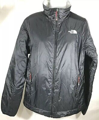 The North Face Womens Black Gray Jacket Summit Series Pertex Reversible Large