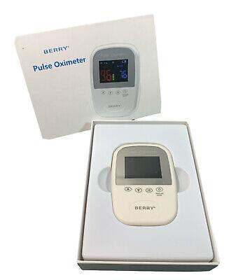 Berry Pulse Oximeter Bm1000a Handheld Veterinary Used