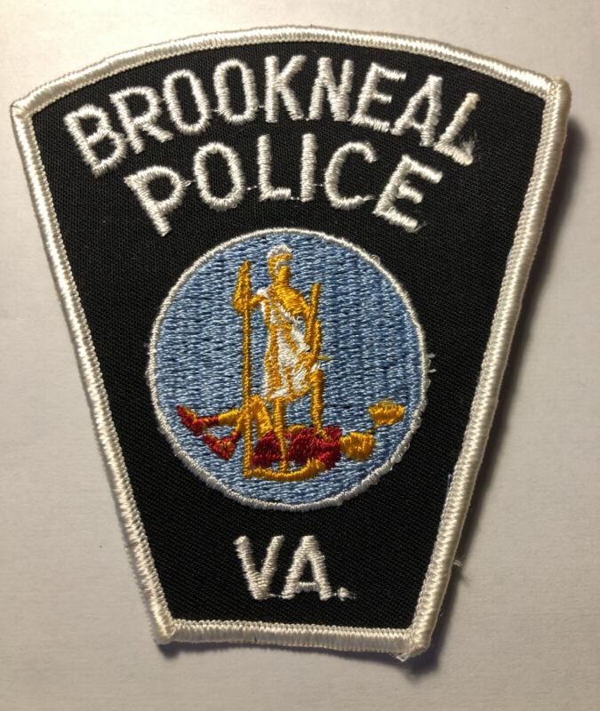 Vintage Brookneal Virginia Police Patch