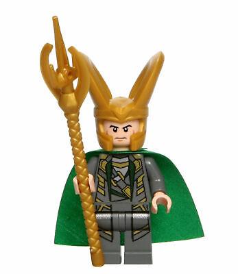 LEGO Marvel LOKI sh033 from 6869 Quinjet Aerial Battle