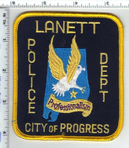 Lanett Police (Alabama) 4th Issue Shoulder Patch