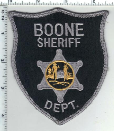 Boone County Sheriff (West Virginia) 2nd Issue Uniform Take-Off Shoulder Patch