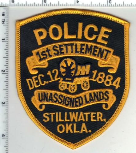 Stillwater Police (Oklahoma) 3rd Issue Shoulder Patch