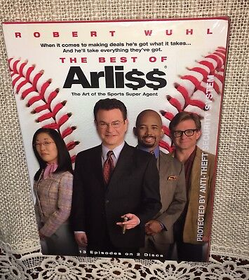 Robert Wuhl * THE BEST OF ARLISS * 13 Episodes on 2 Discs HBO Comedy / Brand