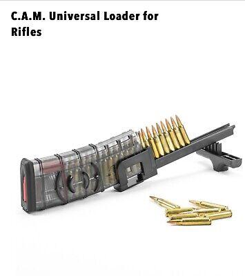 Speed Loader Rifle Magazine Universal 223 556 308 762x39 Hunt Gun Ruger Colt ETS