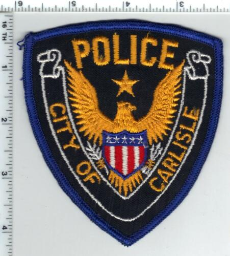 City of Carlisle Police (Arkansas) Shoulder Patch - new from the 1980