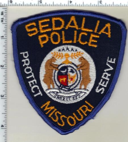 Sedalia Police (Missouri) Shoulder Patch from the early 1980