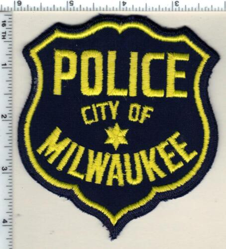 City of Milwaukee Police (Wisconsin) 1st Issue Shoulder Patch