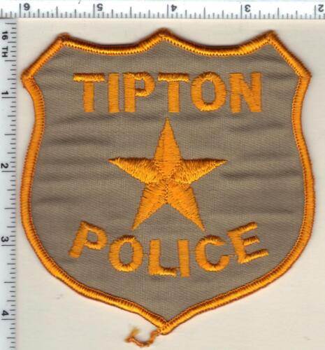 Tipton Police (Missouri) Shoulder Patch from 1986
