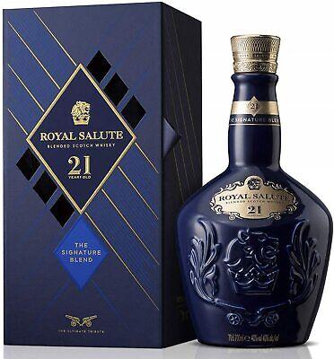 Chivas Regal Royal Salute 21 Jahre Scotch Whisky 40 % Vol./ 0,7 L