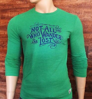 FNY Longsleeve S M L XL cool style T-Shirt japan star grün denim muscle Shirt Denim Long Sleeve Sweatshirt