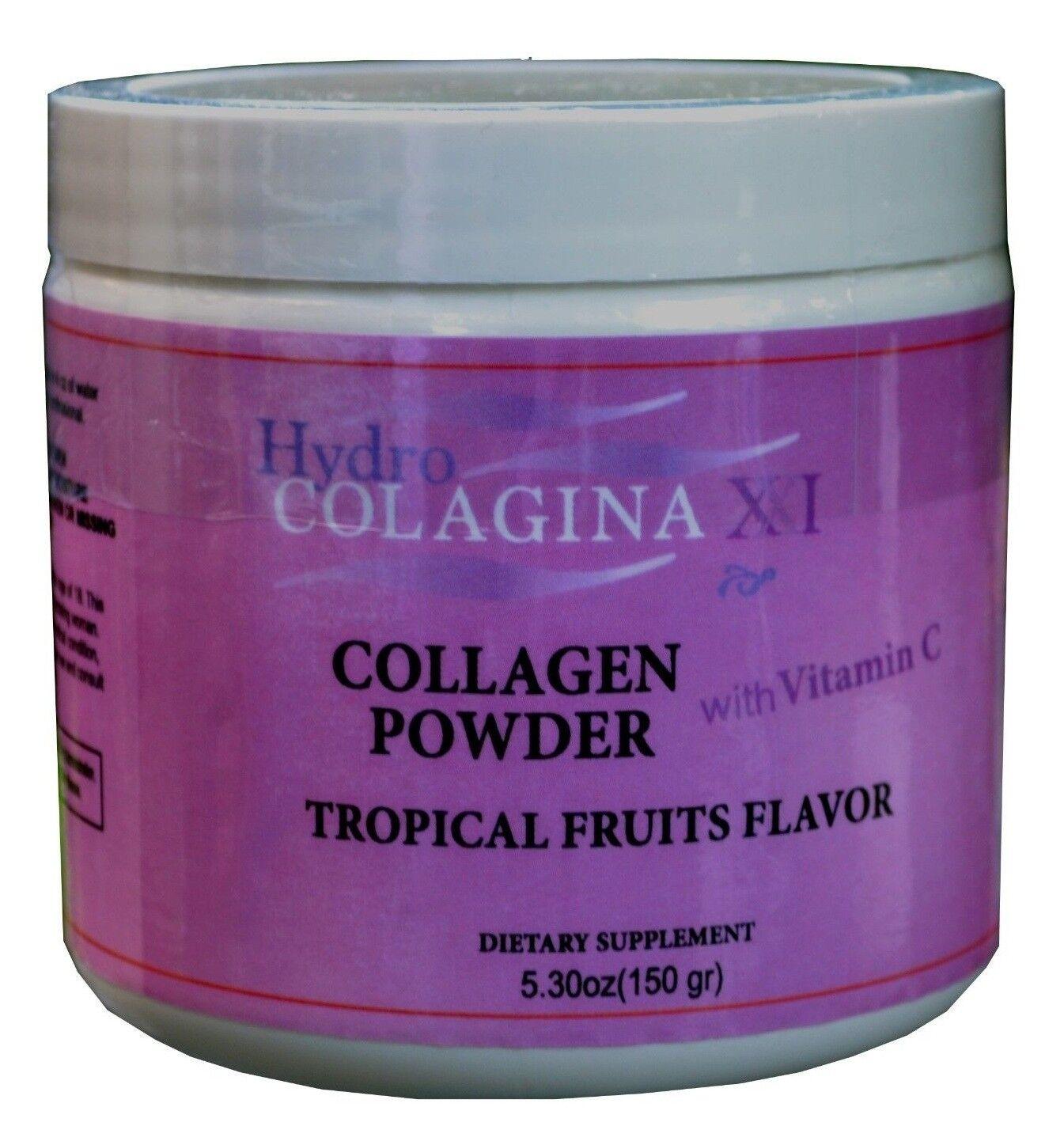 HYDRO COLAGINA XXI hidro collagen powder vitaminC colageina 10 colagina 21