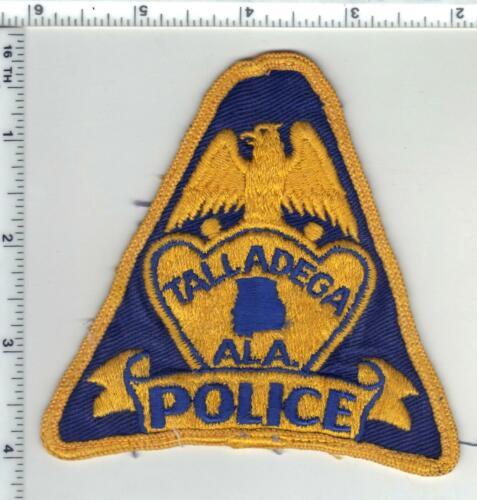 Talladega Police (Alabama) 1st Issue Uniform Take-Off Shoulder Patch