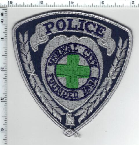 Vernal City Police (Utah) Shoulder Patch from the 1980