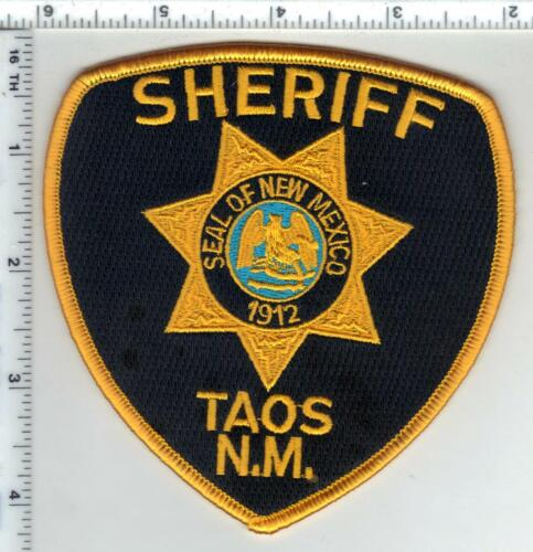 Taos Sheriff (New Mexico) 4th Issue Shoulder Patch
