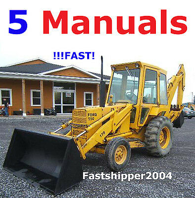 ford backhoe  owners manual    ford