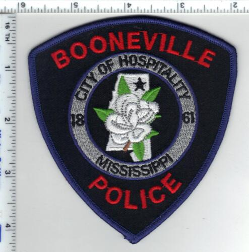 Booneville Police (Mississippi)  Shoulder Patch  from the 1980