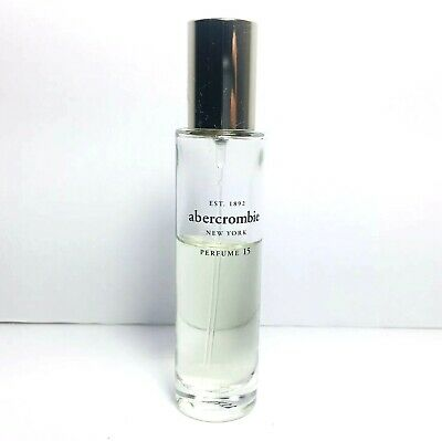 """""""PERFUME 15"""" Perfume Spray by Abercrombie & Fitch 1 oz 60% Full Discontinued"""