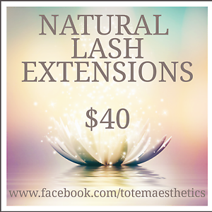 NATURAL  LASH EXTENSIONS  $40 Endeavour Hills Casey Area Preview