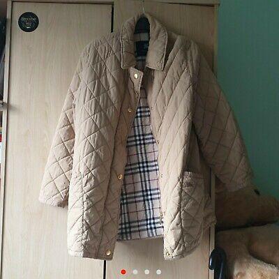 Womens Vintage Burberry Jacket Size Large