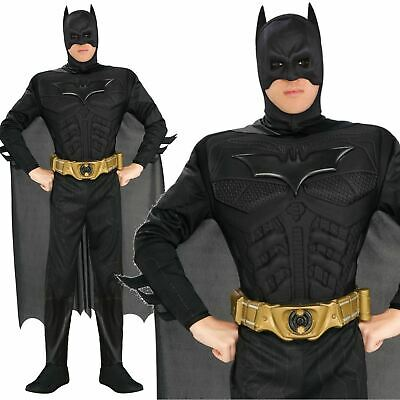 Offiziell Deluxe Dunkler Ritter Batmanadult Herren Kostüm Superheld Kostüm Cospl