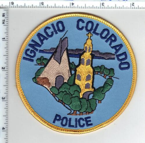 Ignacio Police (Colorado) Shoulder Patch - new from the 1980
