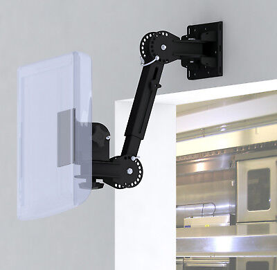 Kitchen Display System VESA Screen Wall Mount + 7 Axis Ext. Adjust PN 80005 Vesa Display Mount