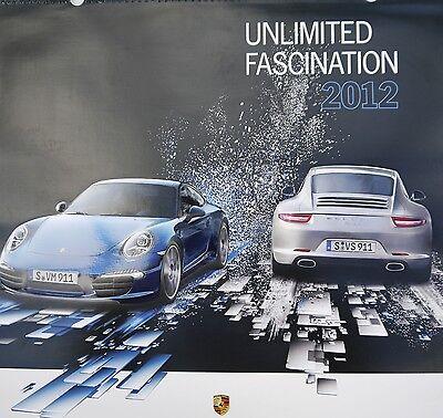 "Porsche Christophorus Calendar, 2012 ""Unlimited Fascination"""