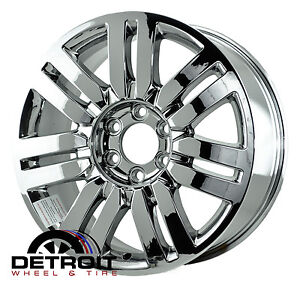 LINCOLN NAVIGATOR,MARK LT  PVD Bright Chrome Wheels Factory Rim 3651 (Exchange)