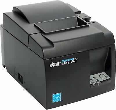 Star Micronics Tsp100iiibi Black Futureprint Bluetooth Receipt Printer