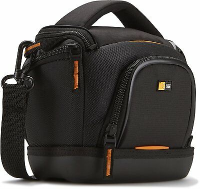 Case Logic SLDC-203 Compact/Action Camcorder Camera Bag For Sony Canon Black