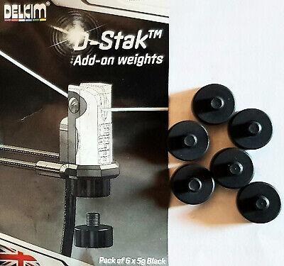 Delkim D-Stak Add-on-weights 6er-Packung - NEU