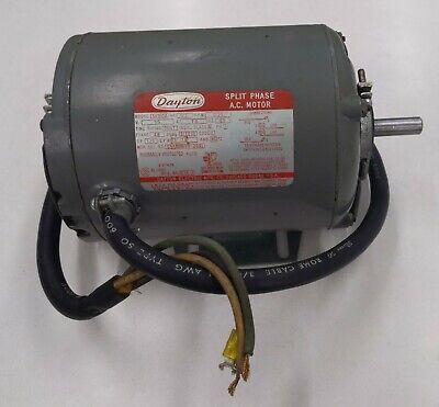 Dayton 12hp Split Phase 115v Ac Electric Motor Model 5k910a W Base 12 D-shft