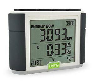 Efergy Elite Wireless Energy Monitor Smart Electricity Home House Meter