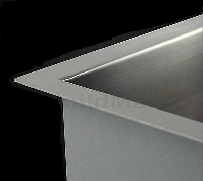 The sink thickness refers to the thickness of the stainless steel and can affect the durability of the kitchen sink.