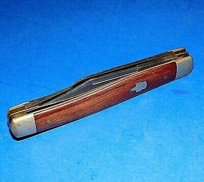 Vintage or Antique KEEN KUTTER 866 Wood Handled Serpentine Pocket Knife
