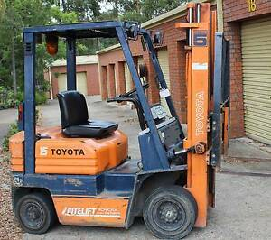Toyota Fork Lift Wauchope Port Macquarie City Preview
