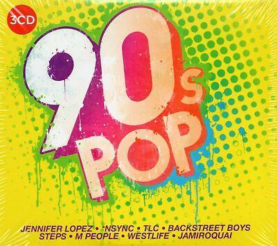 90s Pop (3 x CD) Cyndi Lauper/Deacon Blue/Jennifer Lopez/M People/Rozalla/Olive