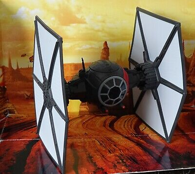 STAR WARS VEHICLE 2015 FORCE AWAKENS COLLECTION FIRST ORDER TIE FIGHTER