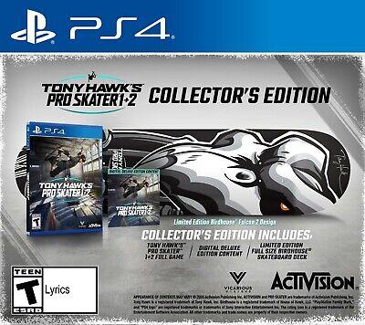 *PRE ORDER* Tony Hawk's Pro Skater 1 + 2 Collectors Edition PS4