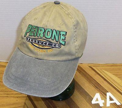 PEIRONE PRODUCE COMPANY URM STORES SPOKANE WASHINGTON HAT VERY GOOD CONDITION - Party Store Spokane