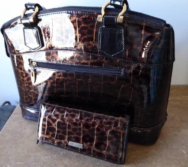Serenade Leather Handbag Matching Wallet Animal Print Vgc Bags Gumtree Australia Swan Area South Guildford 1187376235