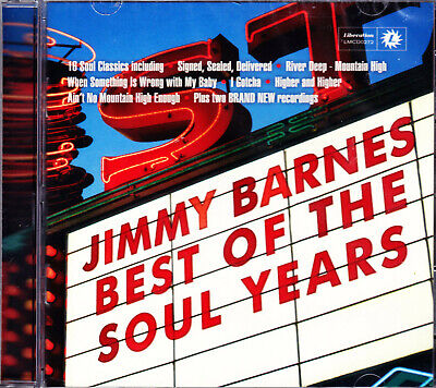 JIMMY BARNES best of the soul years  CD NEU (Jimmy Barnes Best Of The Soul Years)