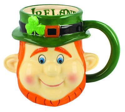 - McMurfy Leprechaun Head Mug
