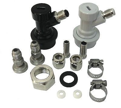 Kegerator Conversion Kit For Ball Lock Kegs And Sankey D Connections Disconnects