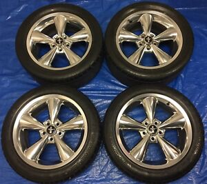 "2008 Ford Mustang GT 18"" OEM Wheels & Tires *Amazing Condition*"