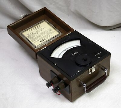 Vtg Sensitive Research Esd Electrostatic Voltmeter 500v Singer Tested Usable