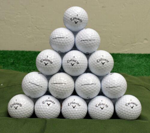 48 Callaway Supersoft 4A White Golf Balls
