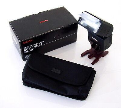 L91- i-TTL-Blitzgerät - SIGMA EF-610 DG ST - für NIKON SLR-Kameras, gebraucht gebraucht kaufen  Deutschland