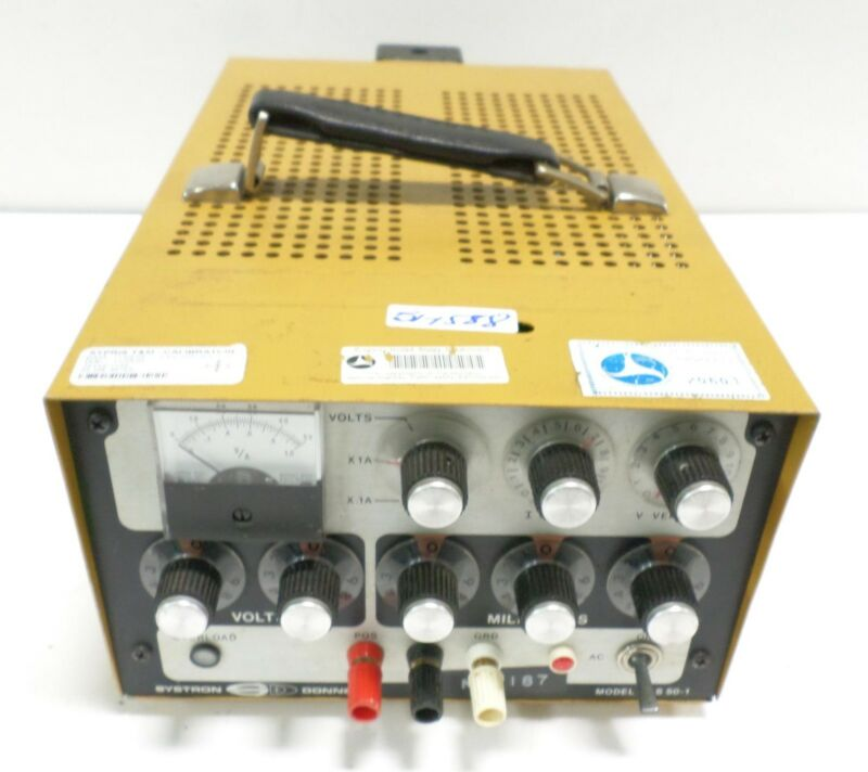 SYSTRON DONNER POWER SUPPLY PLS 50-1